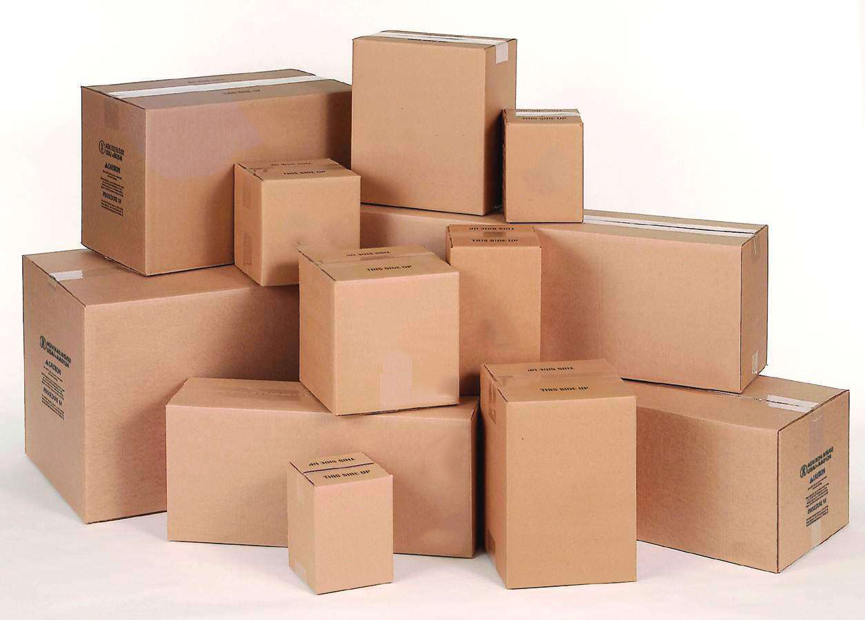 Cardboard boxes of all types and all sizes